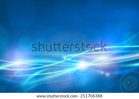 abstract bokeh lights vector background poster for web or print. - stock vector