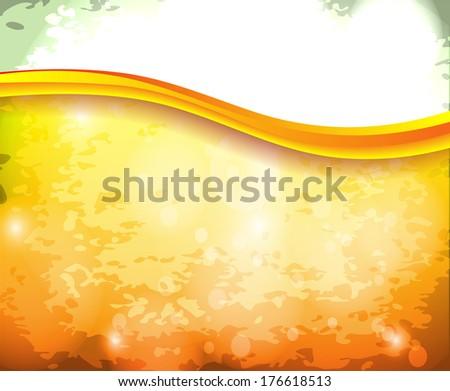 Abstract bright background in orange color