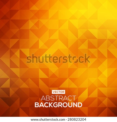 Abstract bright background with triangles. Modern geometrical abstract background - stock vector