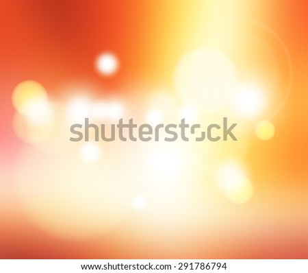 abstract bright blur with bokeh background for web design,colorful background,wallpaper,Vintage style - stock vector