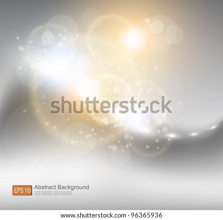 Abstract bright shine background with place for text - stock vector
