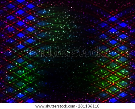 Abstract bright vector background. Vector illustration for your business presentations - stock vector