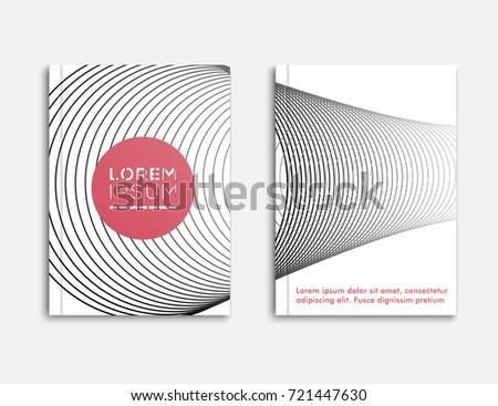 Abstract Brochure Templatecover Design Banner Flyer Stock Vector ...