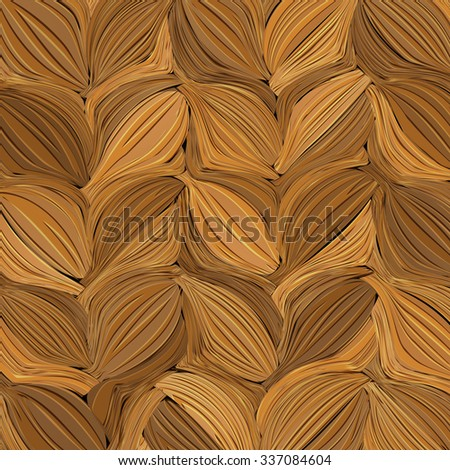 Abstract brown painted background stylized wheat. Vector EPS10 - stock vector