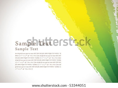 abstract brush background 04 - stock vector
