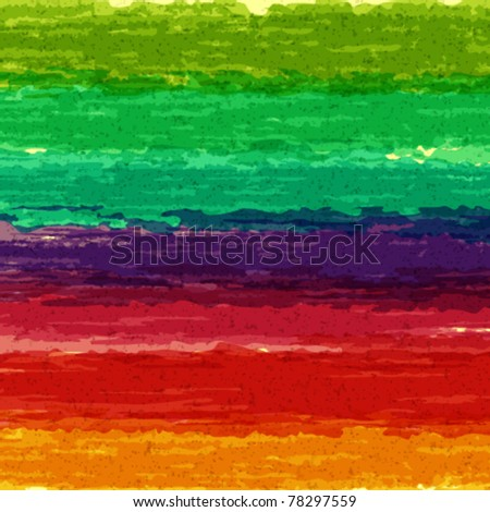 Abstract brush paint splashes vector background. Eps 10. - stock vector