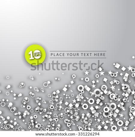 Abstract Bubble Design, eps10 vector - stock vector