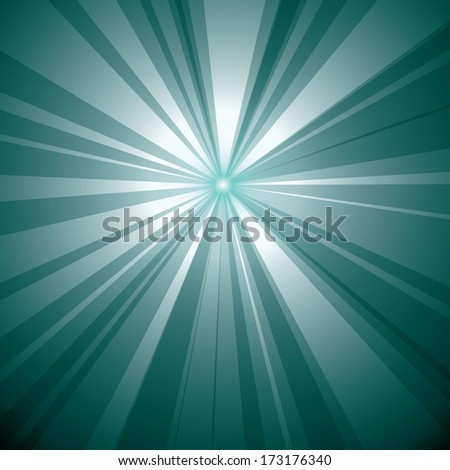 Abstract burst vector illustration. - stock vector