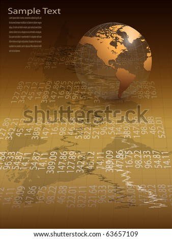 Abstract business background elegant gold, vector. - stock vector