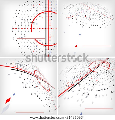 Abstract business background for web design - vector illustration - stock vector