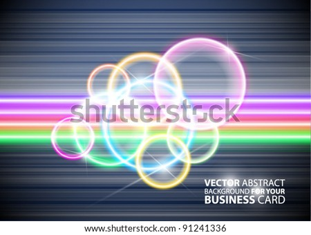 Abstract business background for your business card