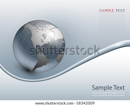 abstract business background grey, vector. - stock vector