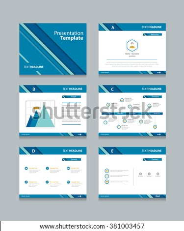 Slide Template Stock Images, Royalty-Free Images & Vectors ...