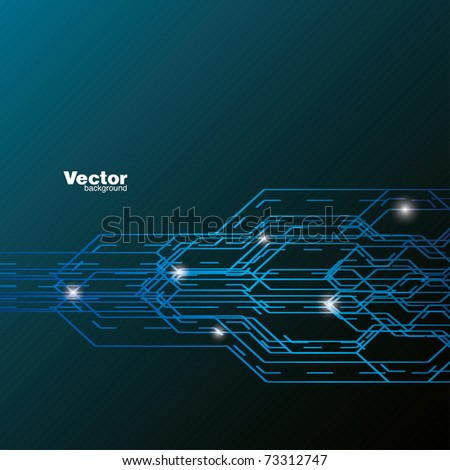 abstract business vector background - stock vector