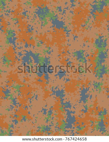 Abstract camouflage pattern. Seamless vector wallpaper.Colorful background. Vector illustration