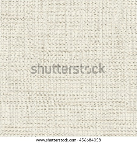 Abstract canvas texture. Vector design. - stock vector