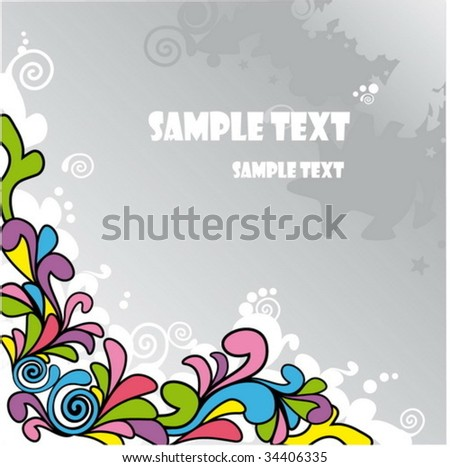 Abstract cartoon background