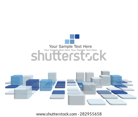 Abstract checked pattern. EPS 10 vector illustration with transparency. - stock vector