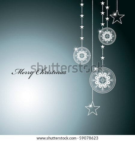 Abstract Christmas Background. eps10. - stock vector