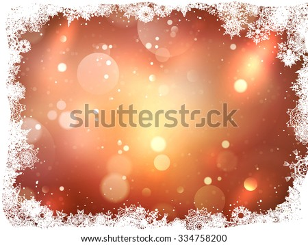 Abstract christmas background. EPS 10 vector file included - stock vector