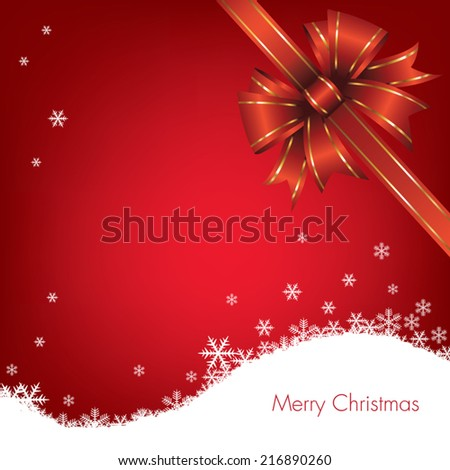 Abstract Christmas background. Vector illustration - stock vector