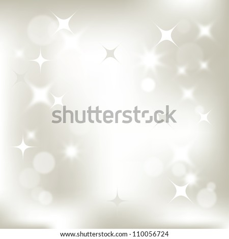 abstract Christmas background, vector image for design - stock vector