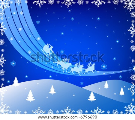 Abstract Christmas vector background illustration