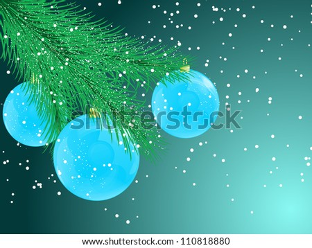 abstract Christmas vector illustration