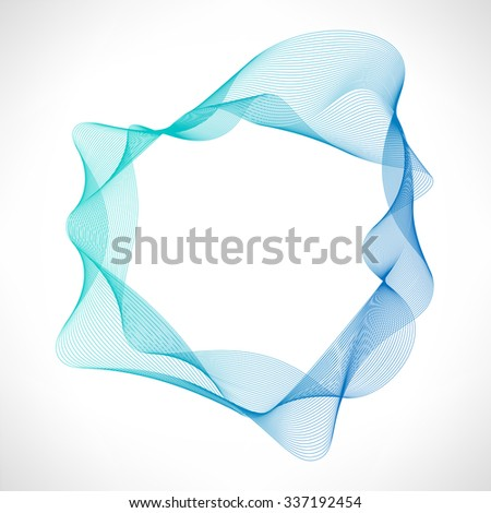 Abstract circle bright background - stock vector