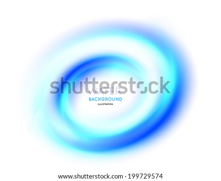 Abstract circle bright background Vector illustration on white - stock vector