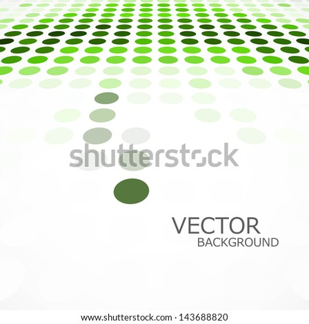 Abstract circle green colorful texture background vector - stock vector