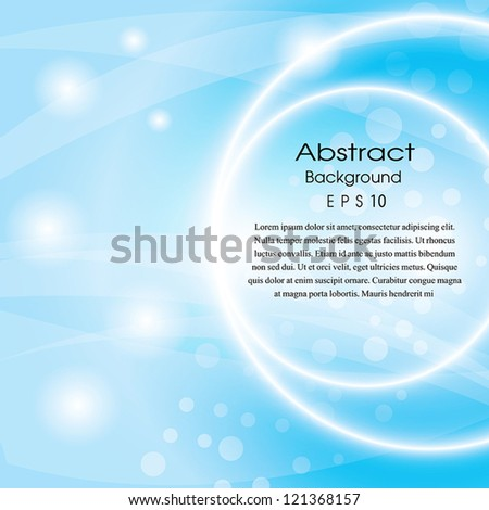 abstract circles Light vector background. Eps 10Abstract Background_097