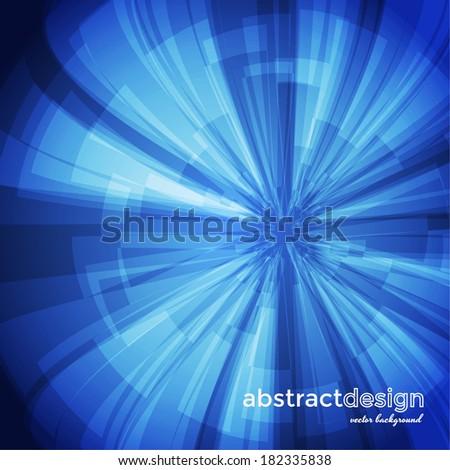 Abstract circular background. Vector eps10 - stock vector