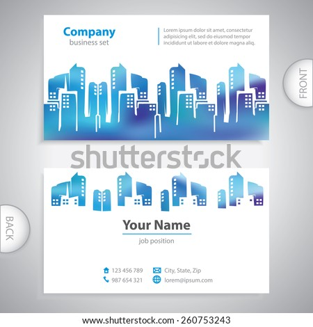 Abstract city buildings architectural building urban stock vector abstract city buildings architectural building urban development town houses real estate agency reheart Image collections