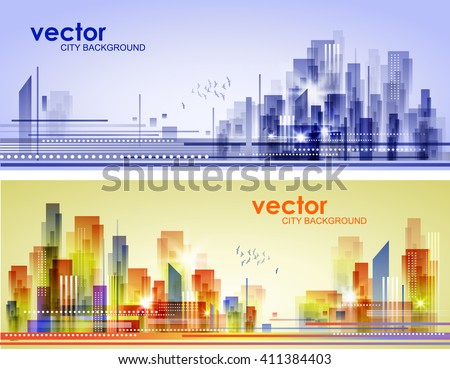 Abstract City Landscape