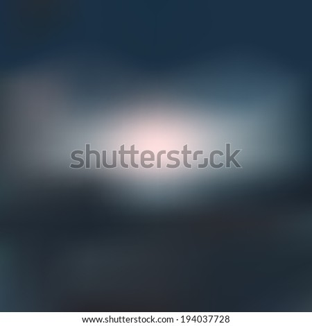Abstract cloudy blur background - stock vector