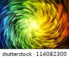 Abstract color background illustration - stock vector