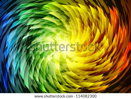 Abstract color background illustration
