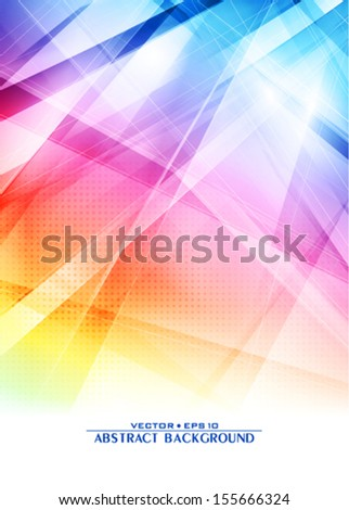 Abstract color background. Vector - stock vector