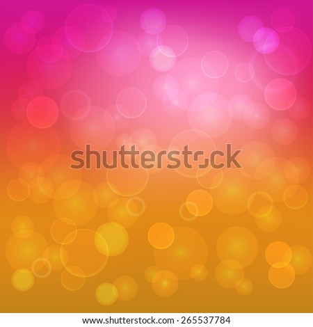 Abstract color background with circles - stock vector