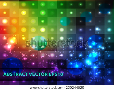 Abstract color bright background for design. Vector template. - stock vector