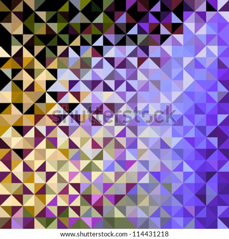 Abstract Color Fun Holiday Pattern. Bright Sparkle Vector Background - stock vector