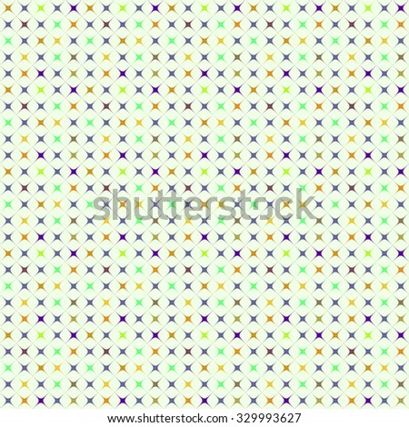 Abstract color pattern of radiant figures. Vector illustration.