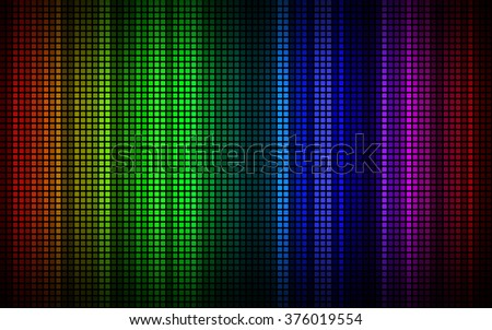 Abstract colored geometric mosaic background