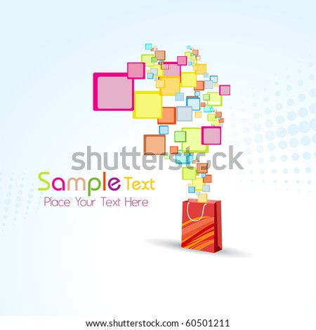 abstract colorful artwork background, vector illustration