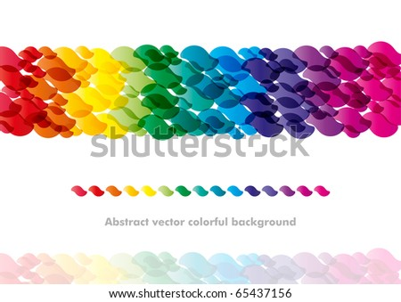 Abstract colorful background design (eps10) - stock vector
