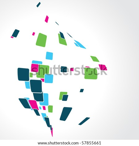 abstract colorful background design vector