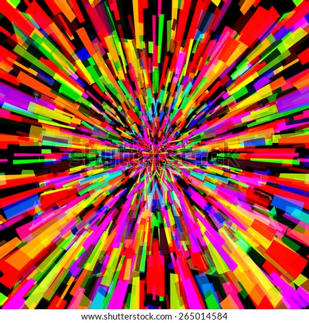 Abstract colorful background design with vibrant colors - stock vector