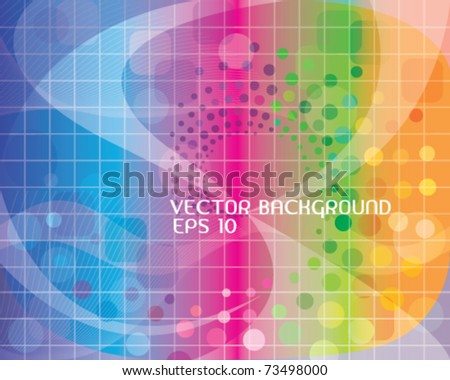 Abstract colorful background. eps 10 Vector illustration.