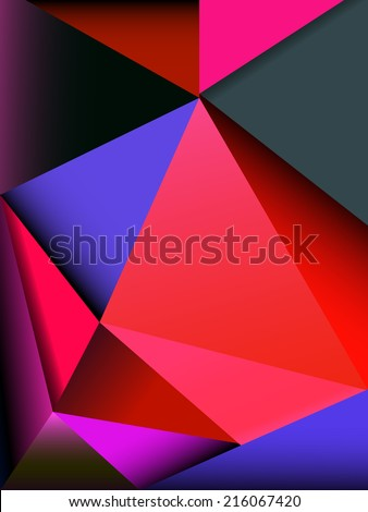 Abstract colorful background for design